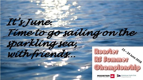More information on It's June.  Time to go sailing on the sparkling sea, with friends…